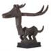 Chi Wara Antelope Headdress; African, Bamana peoples; 19th-20th century; HU 89.13