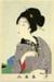 Untitled (female figure) from the series, Truly Beautiful Women; Chikanobu, Gyokuyan, Asian, Japanese; Meiji Restoration; HU 74.05.05