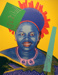 Queen Ntombi Twala of Swaziland (Reigning Queens Royal Edition); Warhol, Andy; 1985; HU 2014.11
