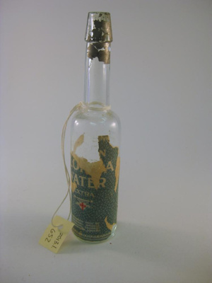 Bottle, Water; National Drug Chemical Company; mid 20th c.; 2013.1.652