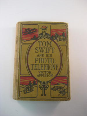 Book; Victor Appleton, Grosset & Dunlap Publishers; 1920s; 2013.1.239
