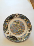 Plate, Decorative; mid- late 20th c.; 2013.1.659