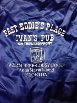 Fast Eddie's Place Ivan's Pub Jacket; Aristo Jac by Hilton; late 1970s; 2013.3.1
