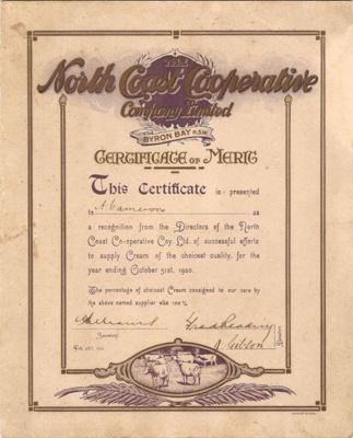 Certificates; 1936; 33629
