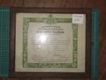 Certificate; 1931; TH2009.10