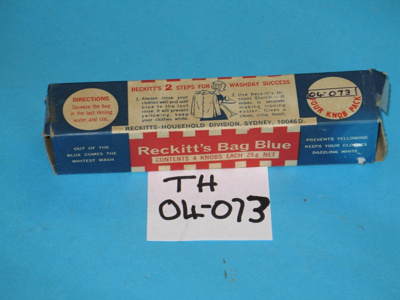 Reckitts Blue Bags; TH2004.73