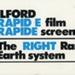 Ilford (Australia) Proprietary Limited Rare Earth System Ilford Rapid E Film Rapide Screens