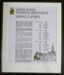 North Sydney Technical High School Framed list of school captains 1942-1969; 001-0046