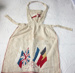 Patriotic Apron; Mary Lily Edstein; 1915; 4086