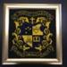 Needlepoint Marist College North Shore Crest; c. 1986; 173.62