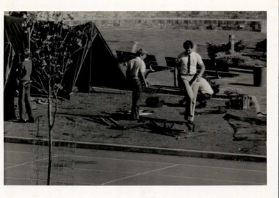 Photographs 1986- school grounds; 1986; 110.138