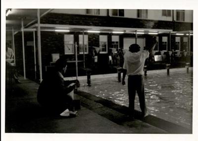 Photographs 1986- swimming carnival; 1986; 110.125
