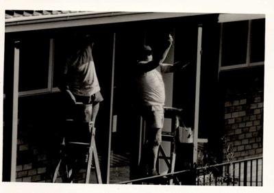 Photographs 1986- school renovations; 1986; 110.120