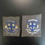 School Crest- College jacket; c.1950; 173.5