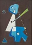 Sommitelma XV / Composition XV ; Kandelin, Ole; 1946; DAM1040
