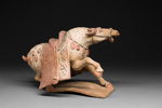 Taisteleva hevonen / Kämpande häst / Fighting horse; 618-907 AD; DAM6271