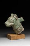 Koiran pää / Hundhuvud / Dog's  head; 206 BC-220 AD; DAM6111