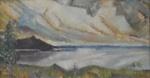 Maisema / Landskap / Landscape; Cawén, Alvar; 1923; DAM1301