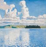 Pivitornit / Moln / Clouds; Gallen-Kallela Akseli; 1904; DAM1028
