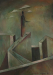 Unissakävelijä / Sömngångaren / The Sleepwalker; Kandelin, Ole; 1944; DAM1039