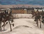 Talvi Helsingissä / Vinter i Helsingfors / Winter in Helsinki; Mäkilä, Otto; 1926; DAM1170