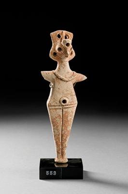 Hedelmällisyyden jumalatar / Fruktbarhetsgudinna / God of fertility; 2000 BC; DAM6492