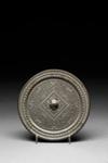 Pyöreä, kohoreunainen peili / Rund spegel me upphöjd ytterkant / Circular mirror with raised rim; 206 BC-220 AD; DAM6116