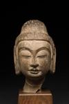 Buddhan pää / Buddhahuvud / Head of Buddha; Tang-dynasty; DAM6249