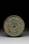 Pyöreä  peili / Rund spegel / Circular mirror ; 206 BC-220 AD; DAM6121