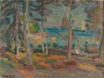Rantakuva / Strandbild / The beach; Enckell, Magnus; 1912; DAM1019