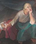 Kehtolaulu / Vaggvisan / Lullaby ; Cawén, Alvar; 1921; DAM1004