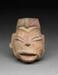 Päänmuotoinen astia / Kärl i form av ett huvud / Head-effigy vessel; 1000-600 BC; DAM7002