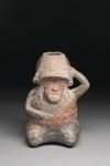 Ihmisen muotoinen astia / Kärl i människoform / Human effigy vessel; 1000-600 BC; DAM7005