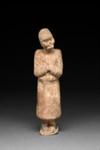Hautaveistos, hevostenhoitaja / Gravfigurin, hästskötare / Tomb figurine, groom; 618-907 AD; DAM6254