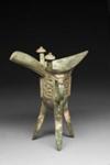 Chüeh. Uhriastia / Offerkärl / Sacrificial vessel; 1600-1046 BC; DAM6002