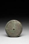 Pyöreä peili / Rund spegel / Circular mirror; 960-1279 AD; DAM6302