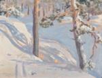 Talvimaisema / Vinterlandskap / Winter landscape; Gallen-Kallela Akseli; 1917; DAM1295