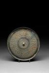 Shouzhou. Pronssipeili / Spegel av brons / Bronze mirror; 1046-256 BC; DAM6073