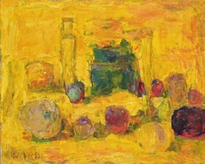Keltainen pullo / Den gula flaskan / The yellow bottle; Wardi, Rafael; 1968; DAM1102