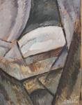 Kubistinen sommitelma / Kubistik komposition / Cubistic composition; Aalto, Ilmari; 1915; DAM1002