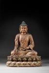 Istuva Buddha / Sittande Buddha / Seated Buddha; AD 1600; DAM6731