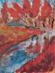 Maisema / Landskap / Landscape; Cawén, Ragni; Ajoittamaton / odaterad / undated; DAM1278