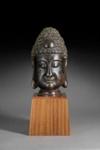 Buddhan pää / Buddhahuvud / Buddha head; 960-1279 AD; DAM6304