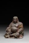 Istuva Budai / Sittande Budai / Sitting Budai; 1368-1644 AD; DAM6335