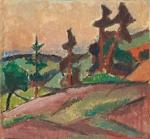 Ilta / Afton / Evening; Cawén, Alvar; 1915; DAM1148