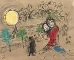 Soleil jaune ; Chagall, Marc; 1974; DAM2081