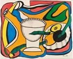 Nature morte à la coupe; Léger, Fernand; 1948; DAM1219