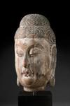 Buddhan pää / Buddhahuvud / Buddha head; 1368-1644 AD; DAM6339