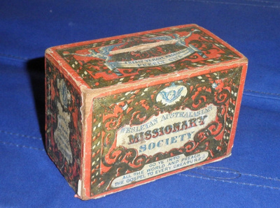 Missionary Box; Latter half 1800's; WHM_2014_0043