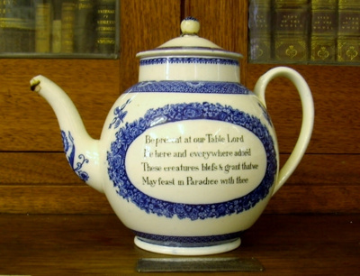 Wesley Tea Pot; Wedgewood; c.1908; WHM_2014_0064